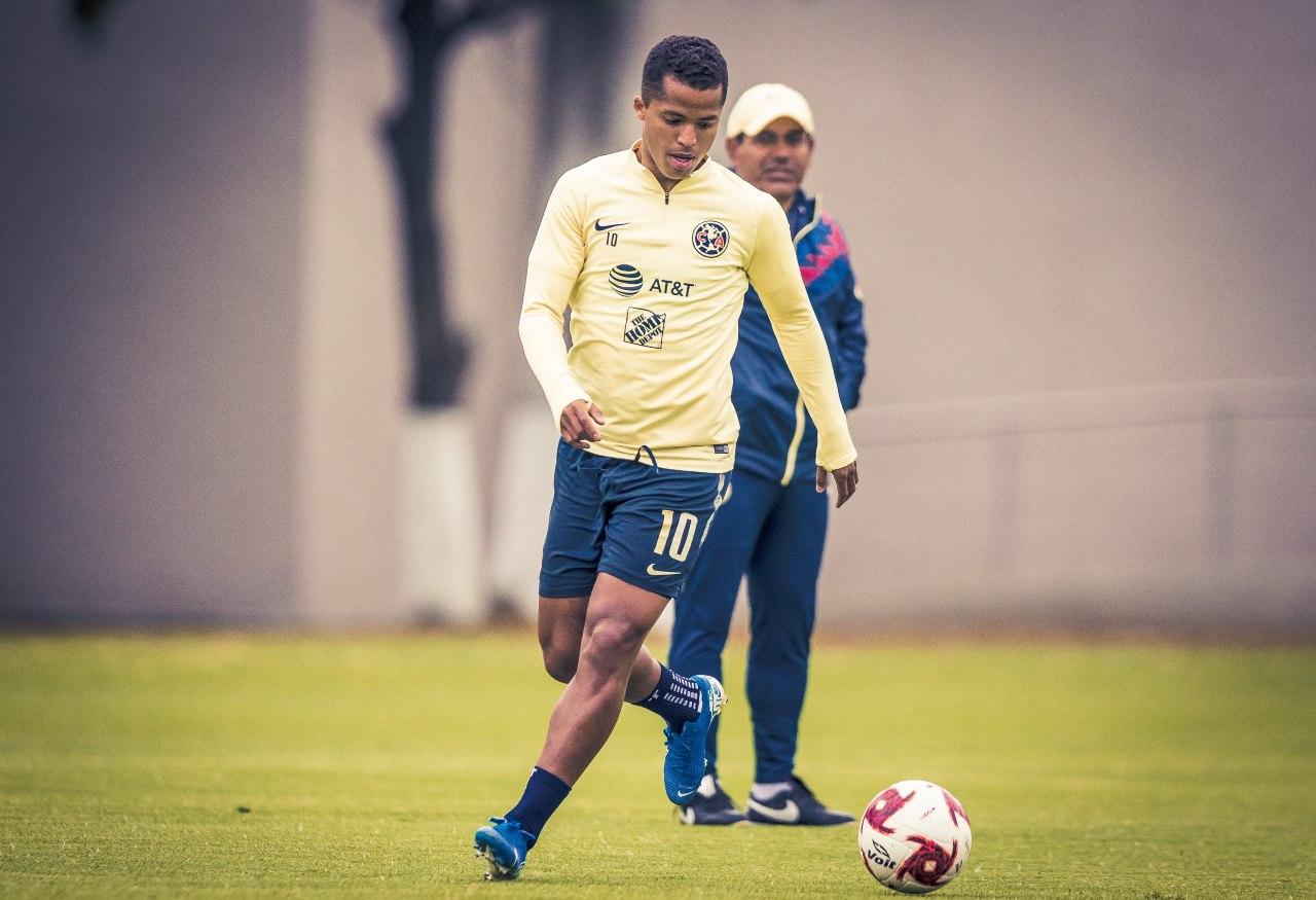 Giovani Dos Santos América salida 2021