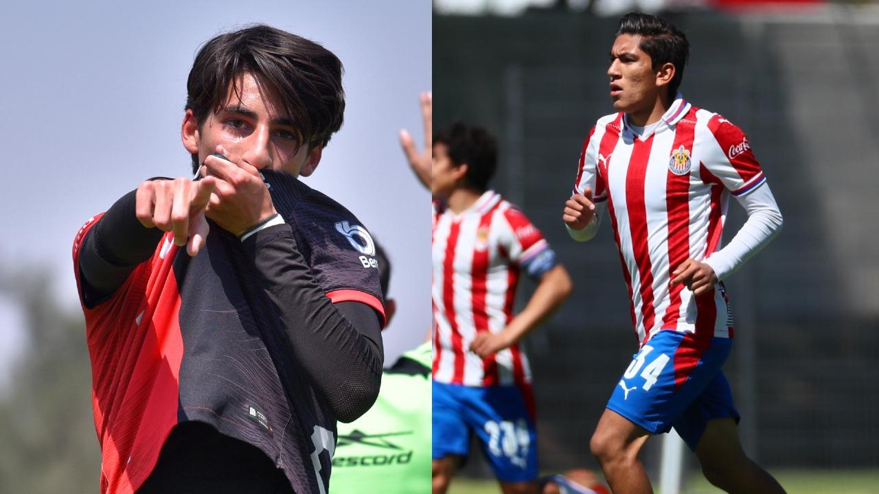 Hijos Rafa Márquez Carlos Salcido Sub 17