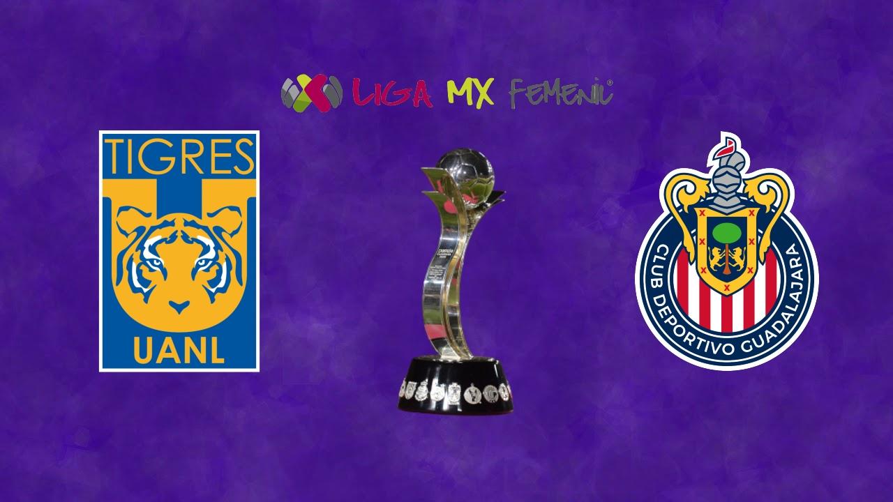 Liga BBVA MX Femenil Tigres Chivas horarios