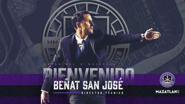 Liga BBVA MX_ Beñat San José es nuevo director técnico de Mazatlán