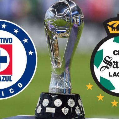 Cruz Azul y Santos Laguna final Liga BBVA MX guad1anes 2021