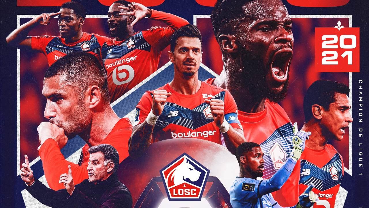 Lille campeón francia ligue 1 psg