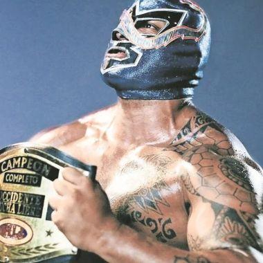 Lucha Libre_ Diamante Azul CMLL luchador