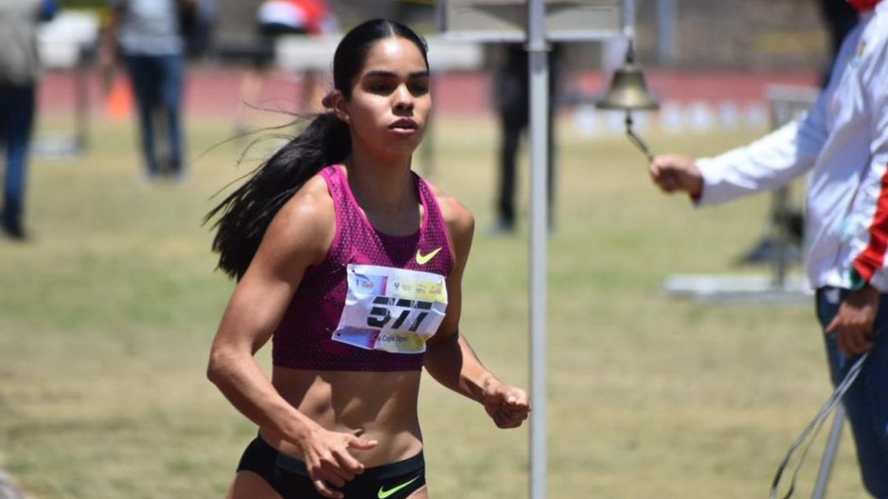 Mariela Real récord 800 metros Ana Guevara