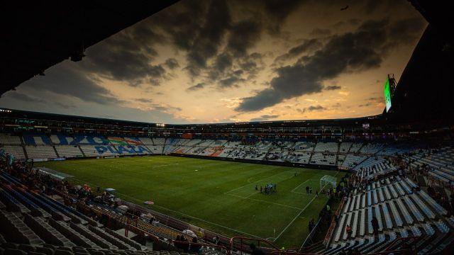 Pachuca puerta cerrada Estadio Hidalgo