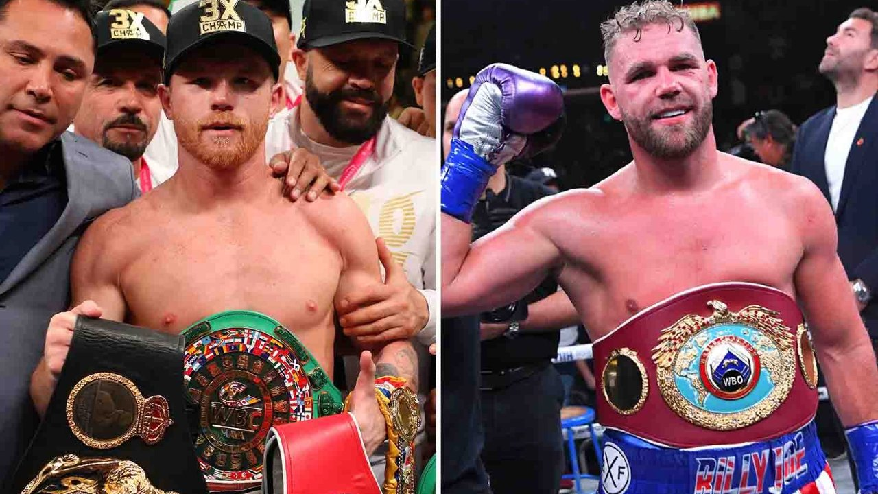 Canelo contra Saunders boxeo box pelea alvarez