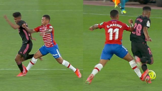 Marvin lesión pierna Real Madrid Granada