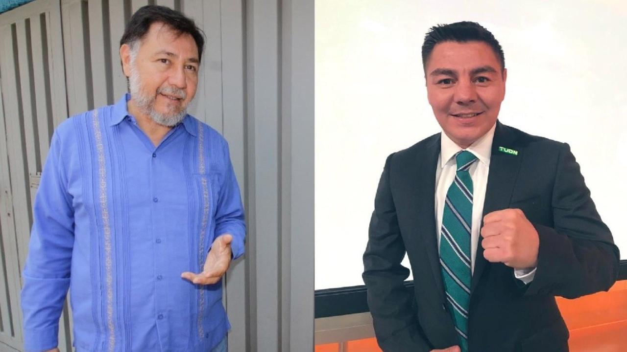 travieso arce político Gerardo Fernández Noroña tiene tremenda pelea en redes sociales