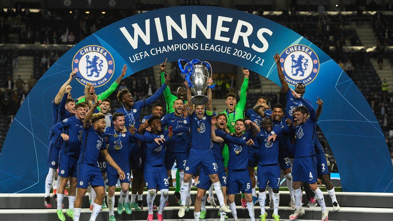 Champions League final Chelsea Campeón