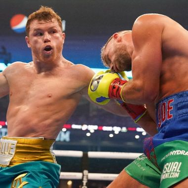 saul canelo alvarez billy joe saunders nocaut técnico pelea