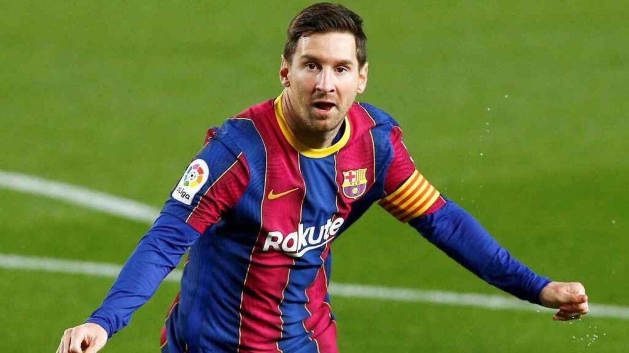 Lionel Messi adulto mayor lleva registro de goles