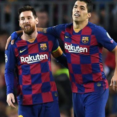 Messi y Suárez máximos anotadores Barcelona