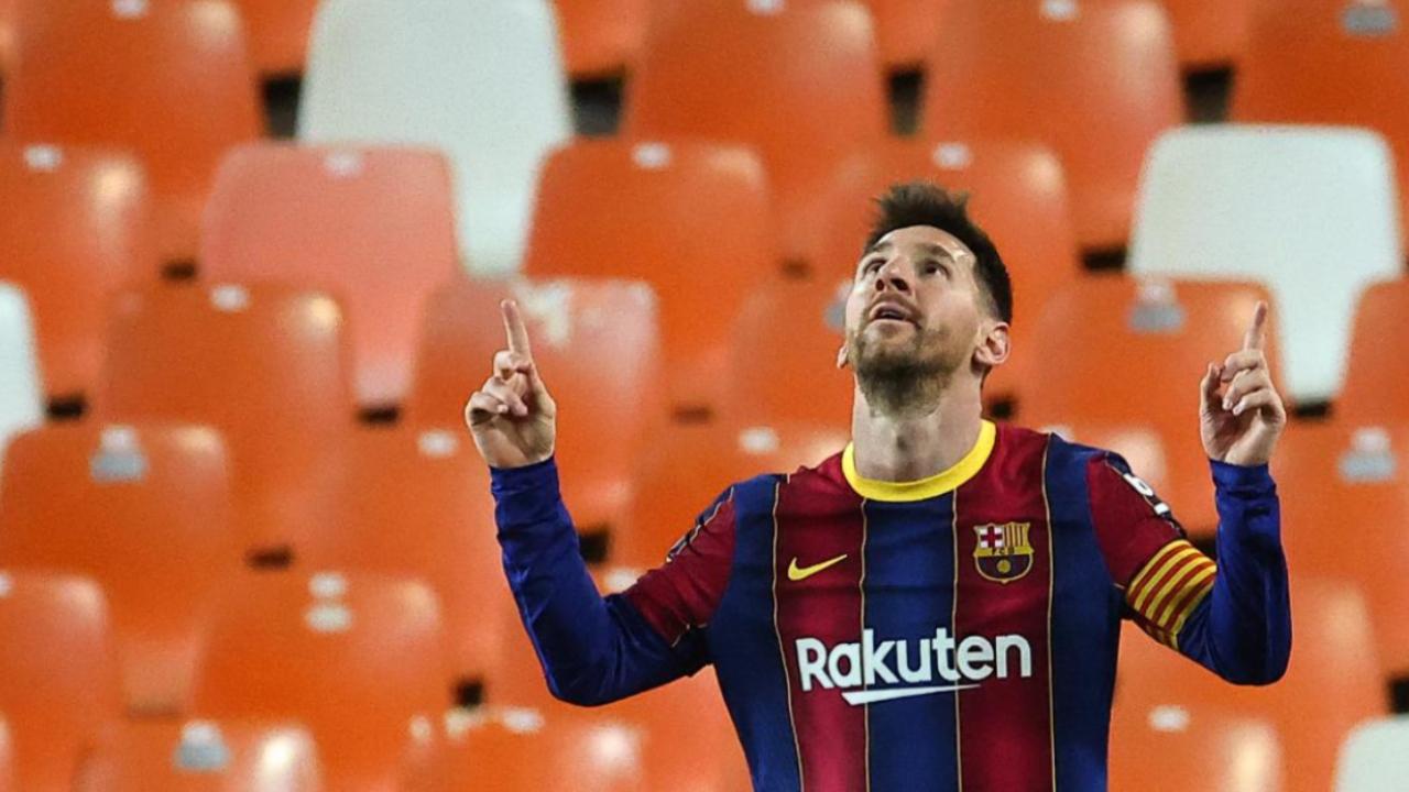 Lionel Messi cuarto máximo anotador en la historia