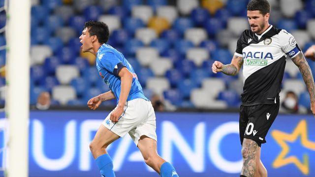 Serie A Napoli gana gol Chucky