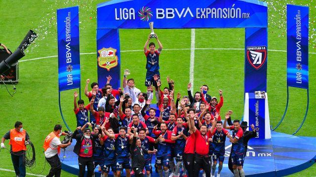 Tepatitlán FC Campeón Expansión