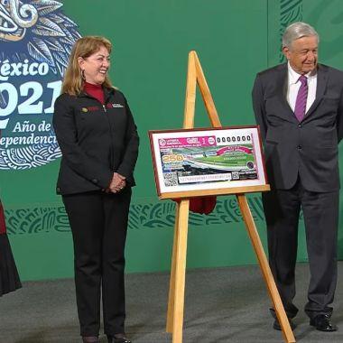 amlo sorteo loteria nacional palco estadio azteca
