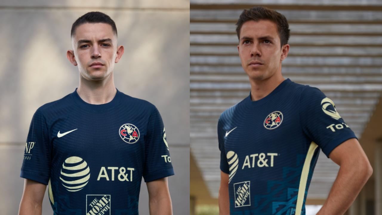 América camiseta visitante Apertura 2021