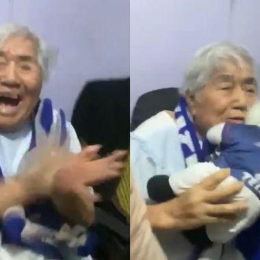 festejo cruz azul abuela campeonato
