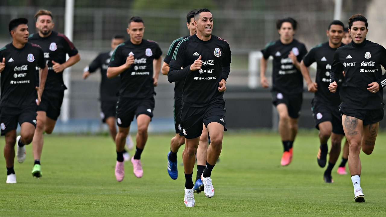 Rogelio funes mori selección mexicana entrenamiento
