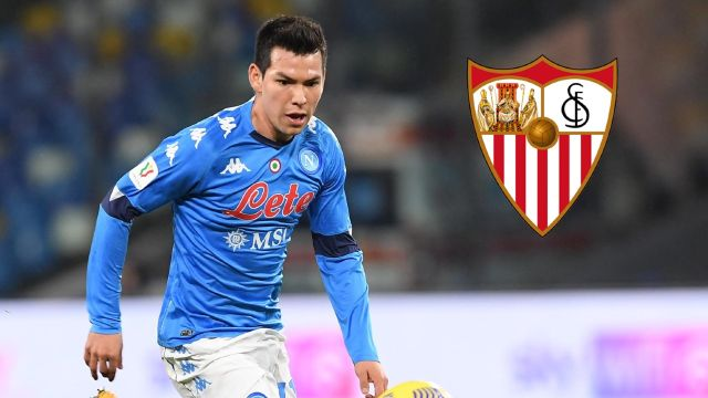 Chucky Lozano Sevilla oferta Napoli Italia