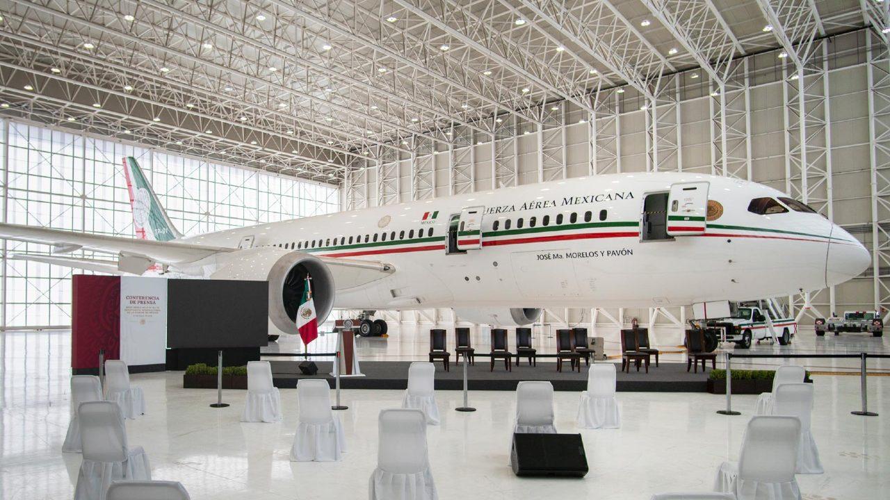 Comité Olímpico Mexicano viaje Tokyo 2020 avión presidencial