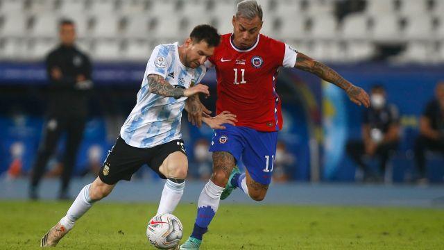 Copa América 2021: Messi y Argentina empatan ante Chile en su debut