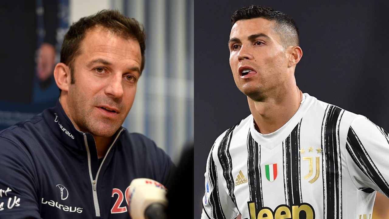 Alessandro Del Piero Cristiano Ronaldo mensaje Juventus