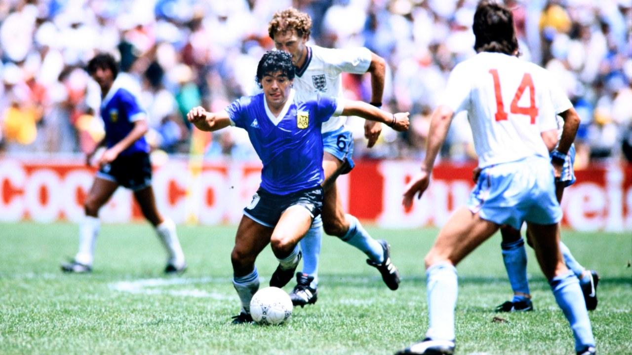Gol del siglo Maradona 35 años