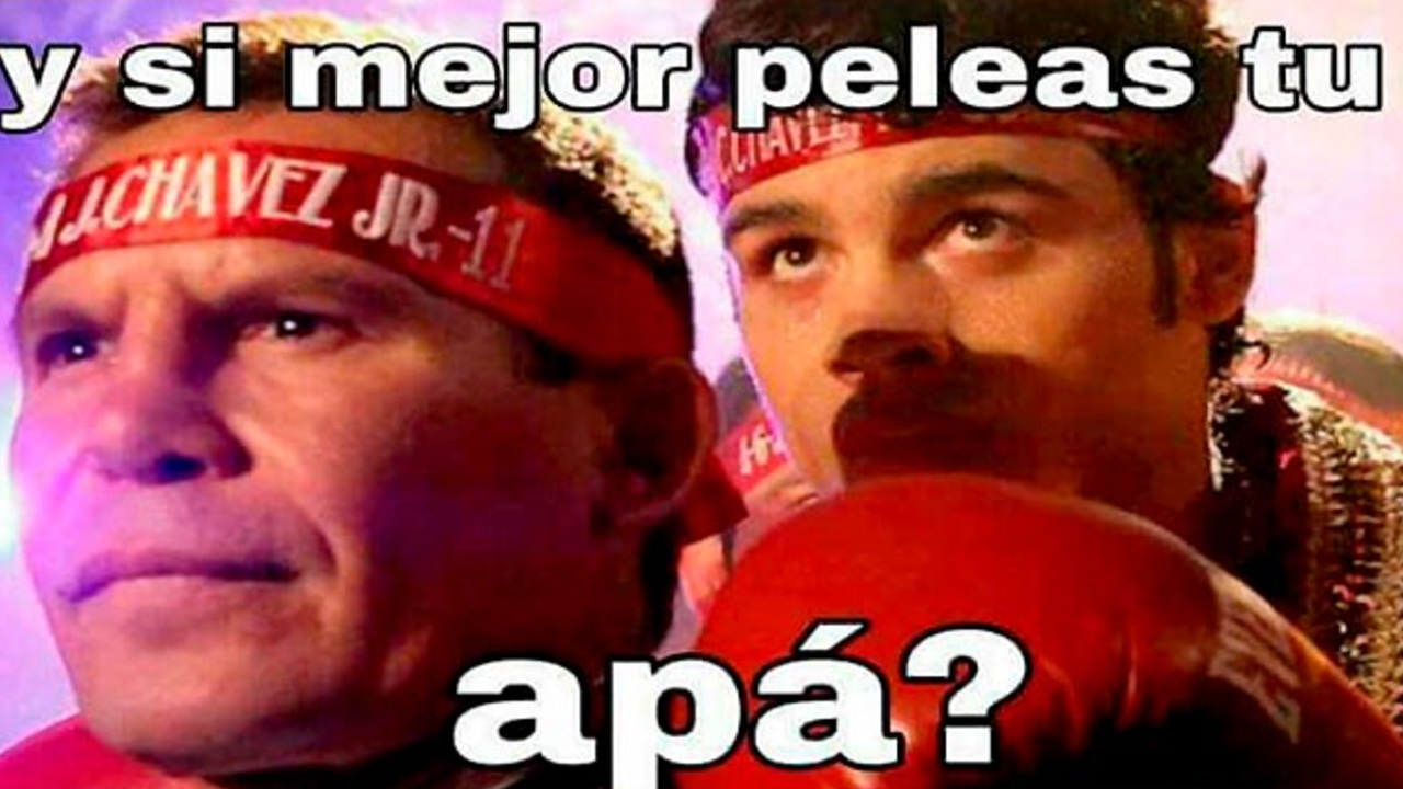 Julio César Chávez última pelea