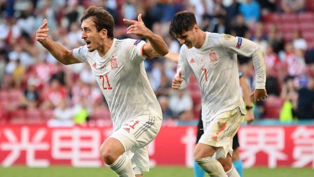 España octavos Croacia Eurocopa 2020