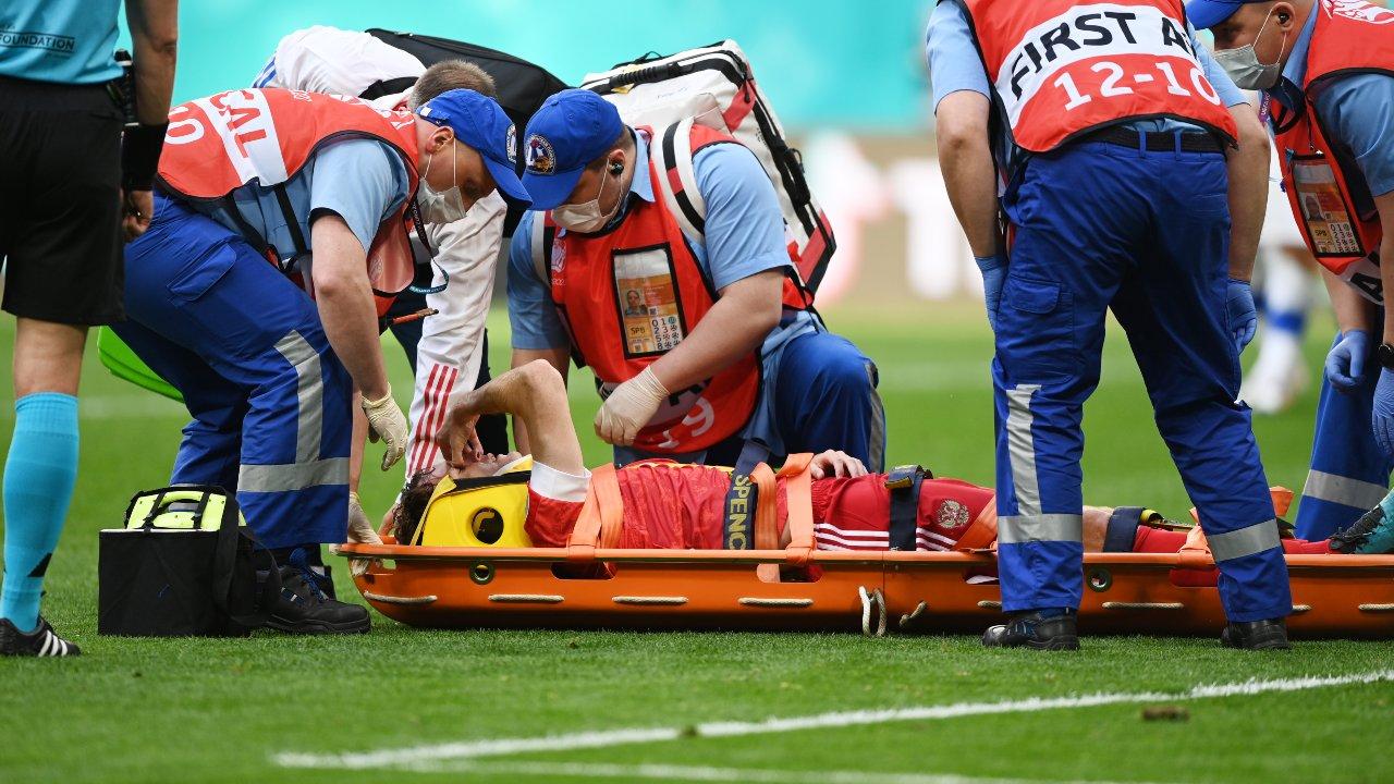 Eurocopa 2020 Mario Fernandes caída Rusia