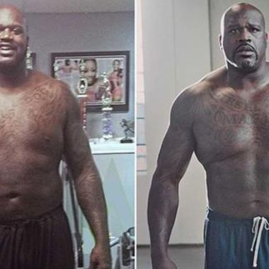 Shaquille O'Neal cambio físico