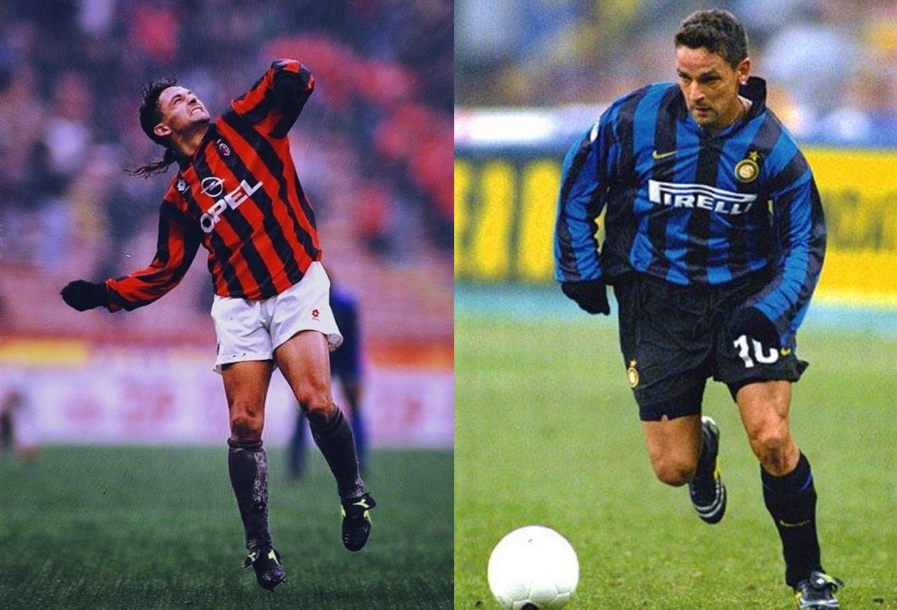 Jugadores Inter AC Milan Roberto Baggio