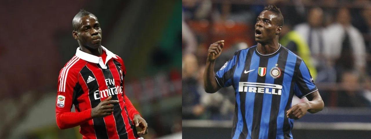 Jugadores Inter AC Milan Mario Balotelli