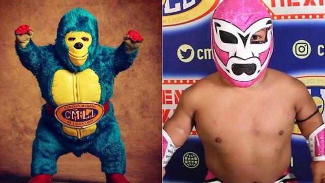 kemonito luchador estatura lucha libre cmll