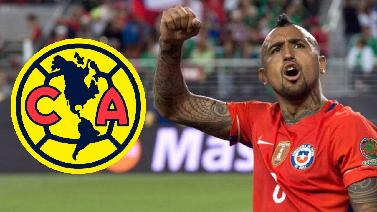 Liga BBVA MX_ Arturo Vidal américa fichaje mexico