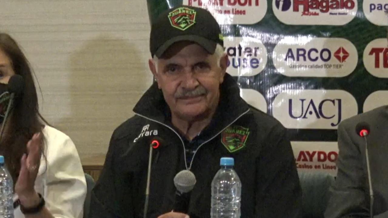 Liga BBVA MX: Tuca Ferretti es nuevo técnico de FC Juárez