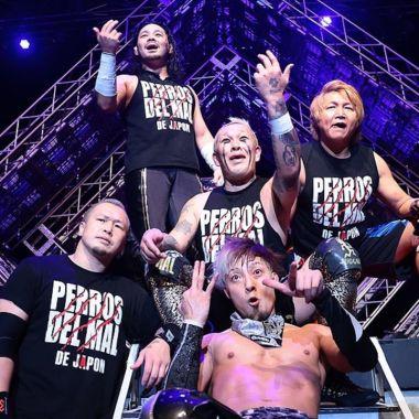 Los Perros del Mal de Japón NOAH lucha libre