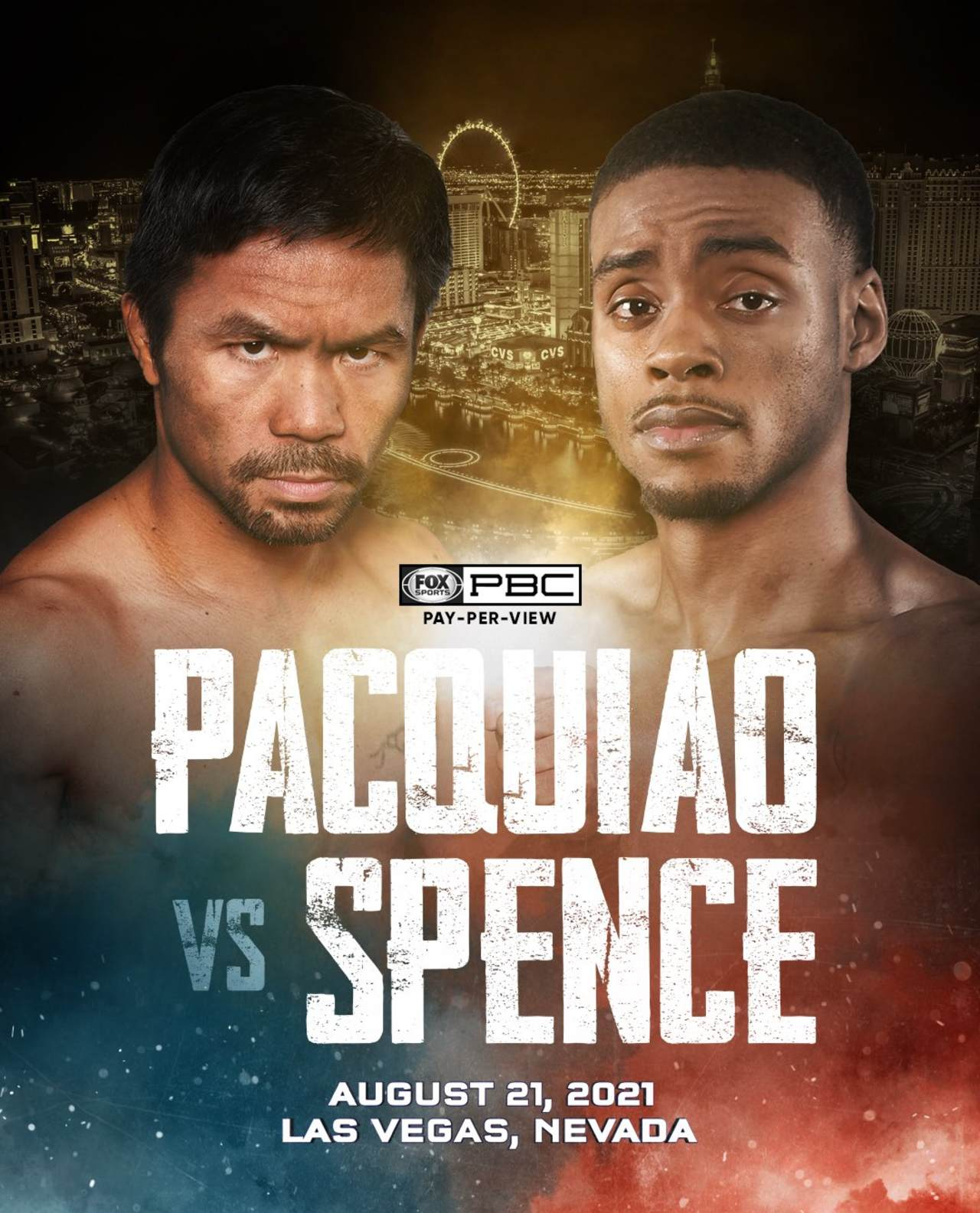Manny Pacquiao Errol Spence Jr. enrenamiento