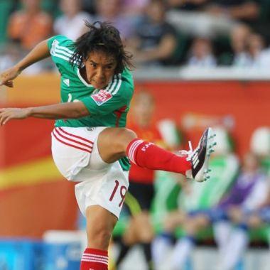 Mónica Ocampo Mundial Femenil mejor gol