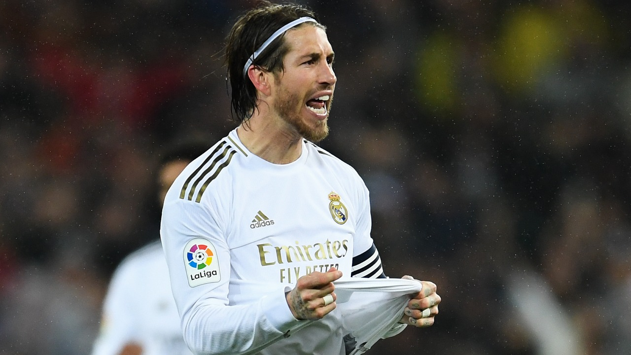 Sergio Ramos real madrid despedida la liga españa
