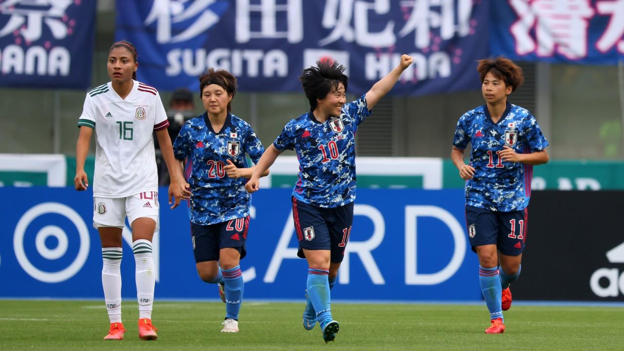 Selección Mexicana Femenil japon partido amistoso