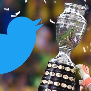 Twitter México copa américa 2021 brasil