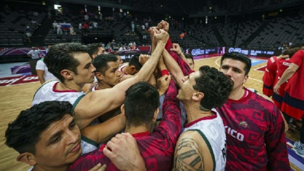 México preolímpico Rusia básquetbol