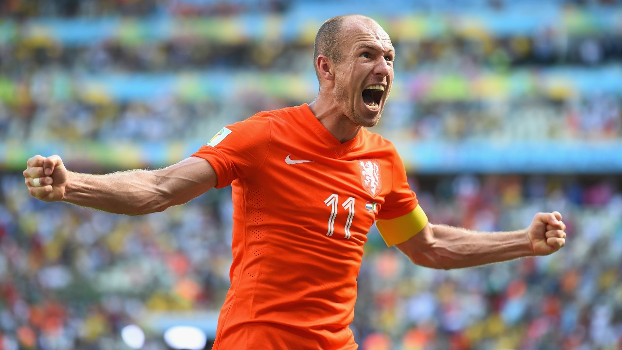 Así despidió el mundo del futbol a Arjen Robben
