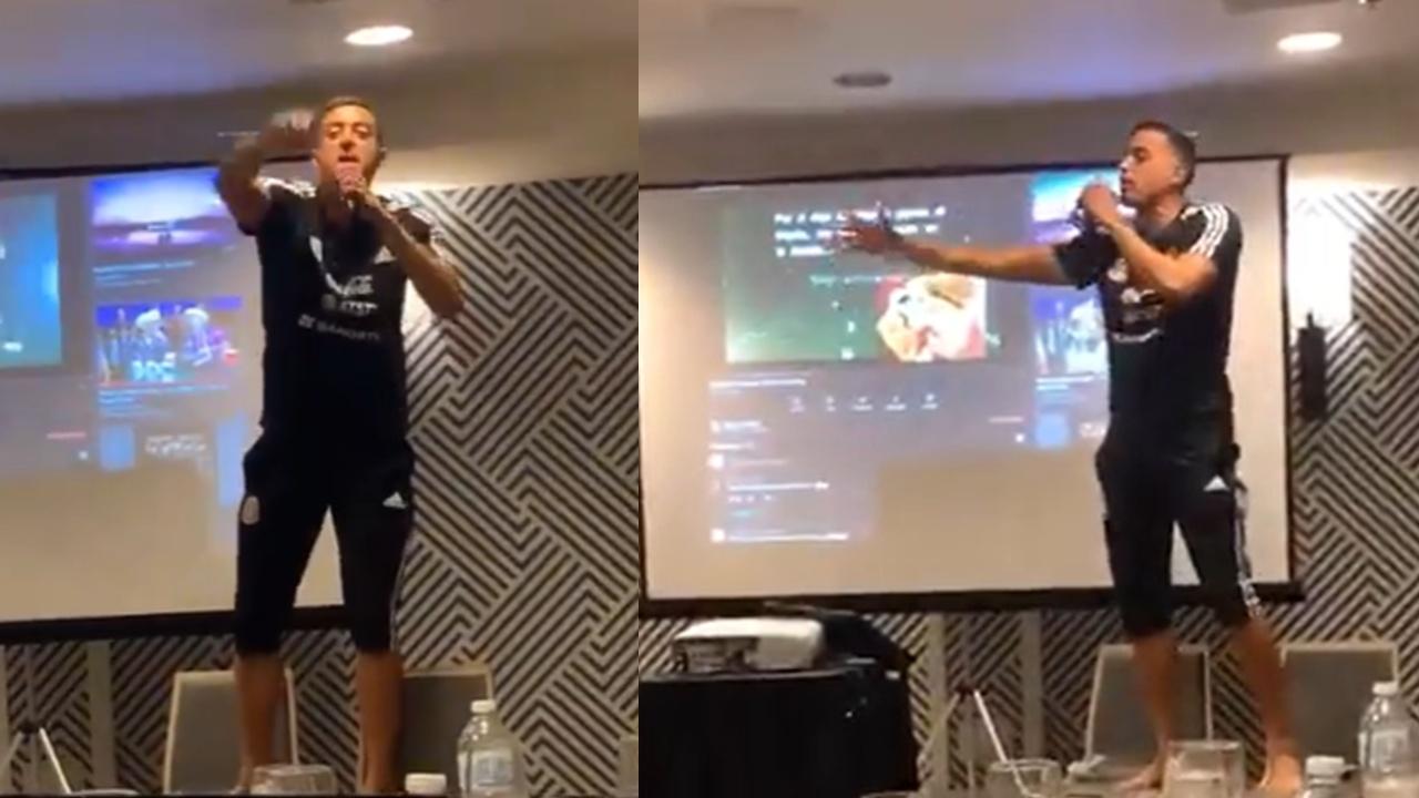 Rogelio Funes Mori en la Selección Mexicana novatada