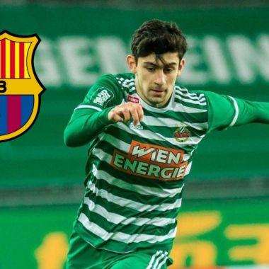 Barcelona Messi austriaco Yusuf Demir