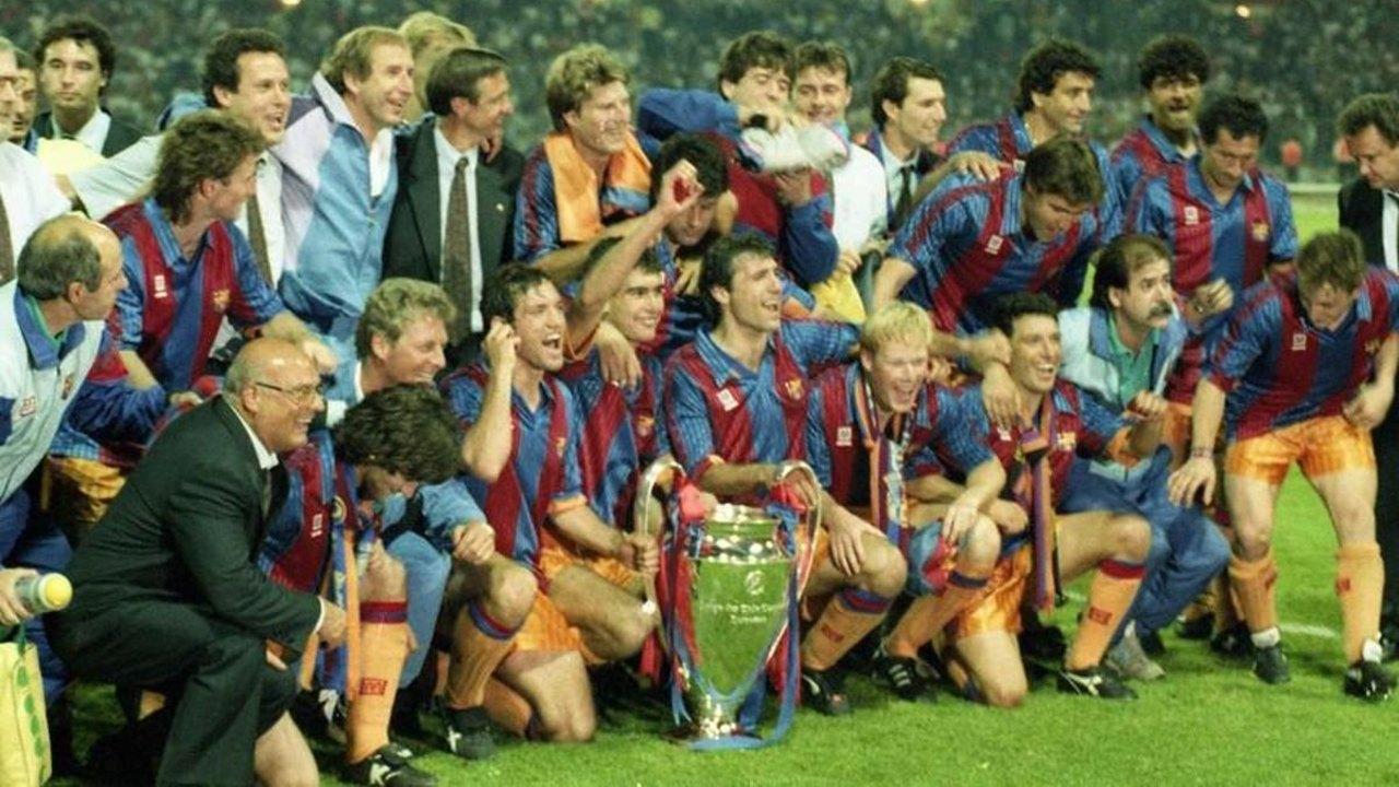 Barcelona lionel messi barca dream team