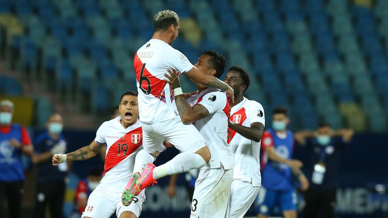 Copa América Perú semifinales