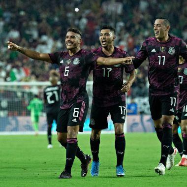 Copa Oro 2021: Jonathan Dos Santos hace un golazo de volea con el uniforme de la Selección Mexicana